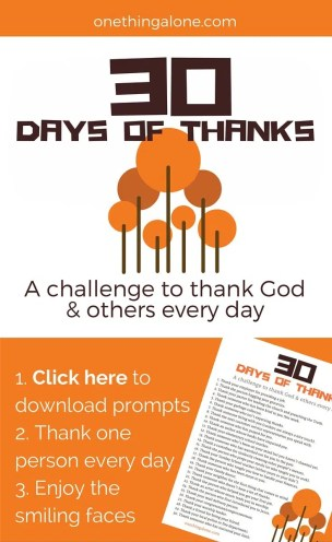 30daysofthanks challenge2