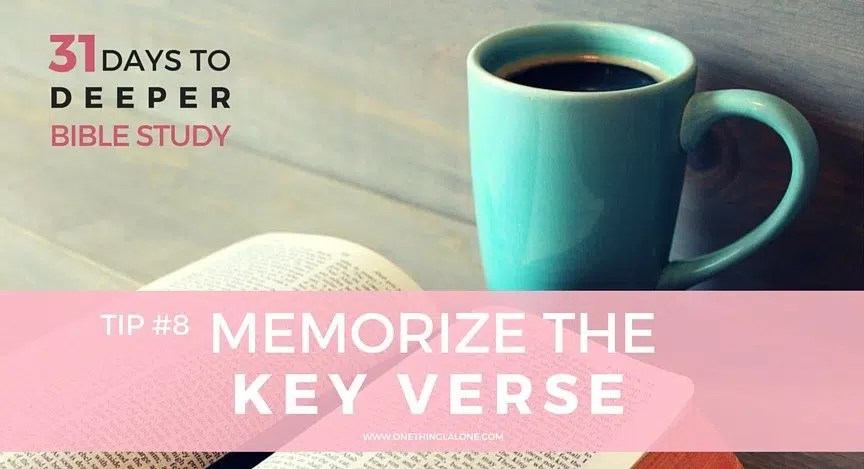 7 Easy Steps to Memorize Key Bible Verses (Even If You Have a Bad