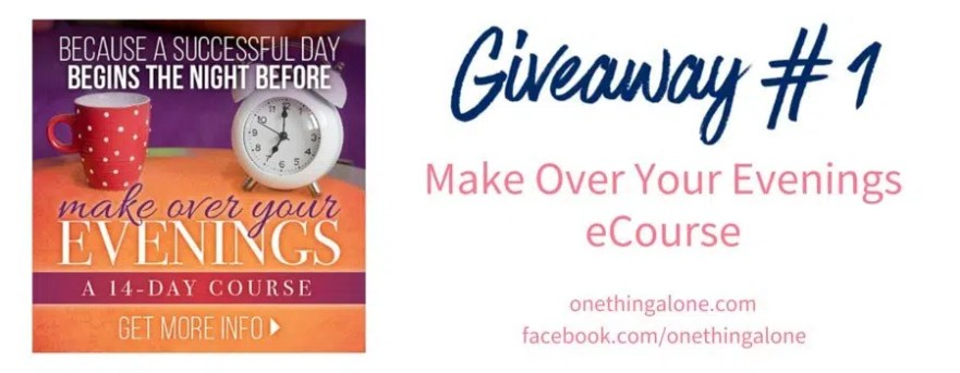 Giveaway 1 Make up your evenings