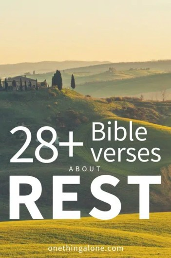 28+ Bible Verses about Stillness and Rest in God's Presence