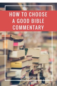 Find Good Bible Commentary