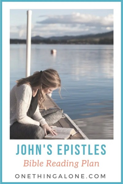 John's Epistles Reading Plan