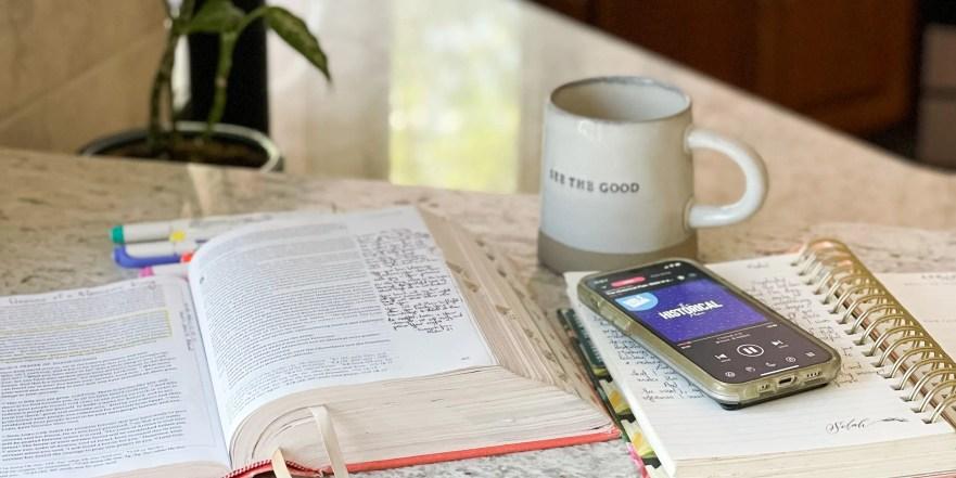 Enjoyable Bible Habits help us find joy in Jesus