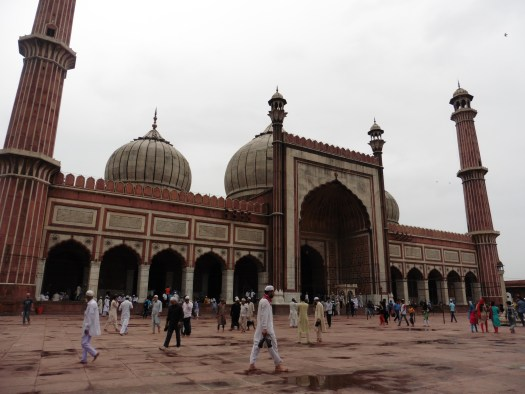 Jama Masjid - the largets mosque in India! June 2015