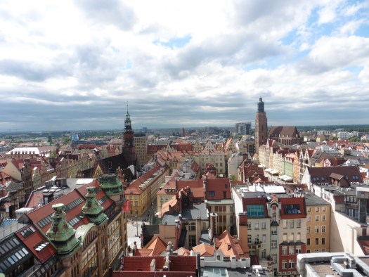 Views over Wroclaw Old Town