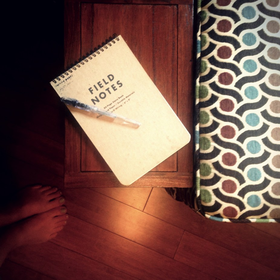 August Break 2015 Day 6: Notebook