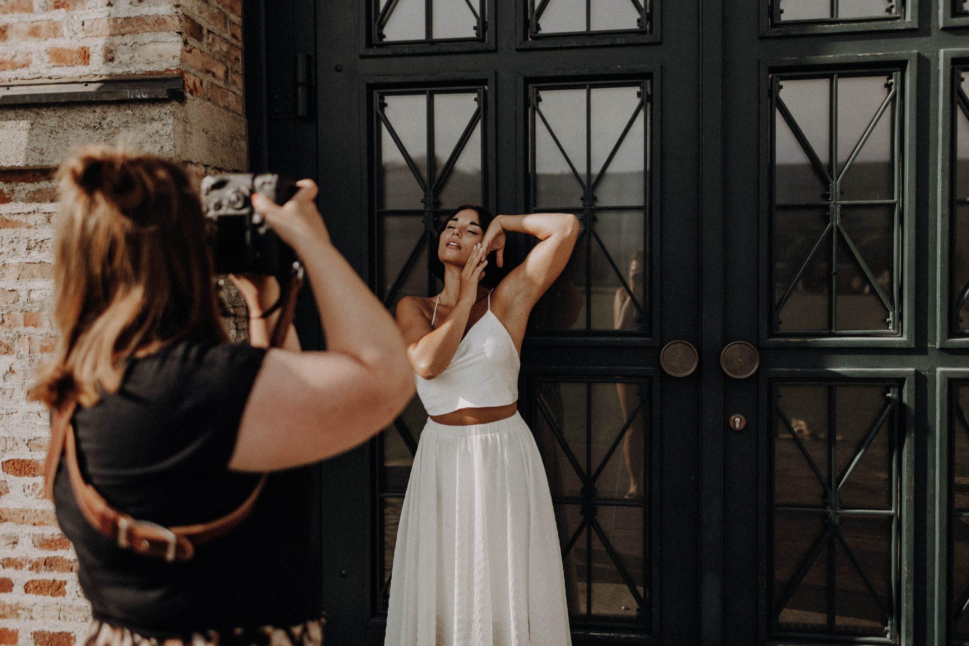 Behind the Scenes Hochzeitsfotografin Sarah Baumgartner