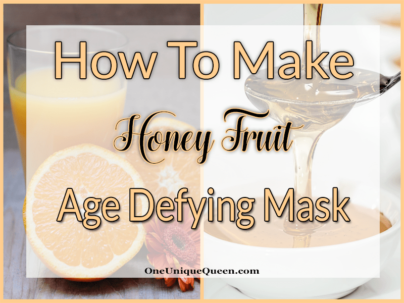 How To Make Honey Fruit Age Defying Mask. This mixture is specially good for mature skin and will put softness into younger skins which have been over dried by wind or sun.