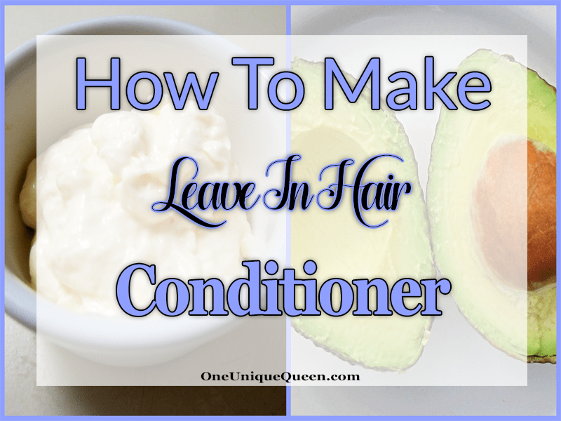 How To Make Leave-In Hair Conditioner