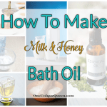 How To Make Milk & Honey Bath Oil