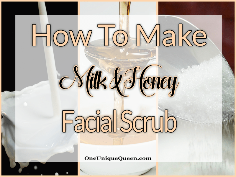 How To Make Milk & Honey Facial Scrub