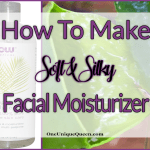 How To Make Soft & Silky Facial Moisturizer
