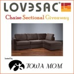 [Giveaway] LoveSac Chaise Sectional – CLOSED