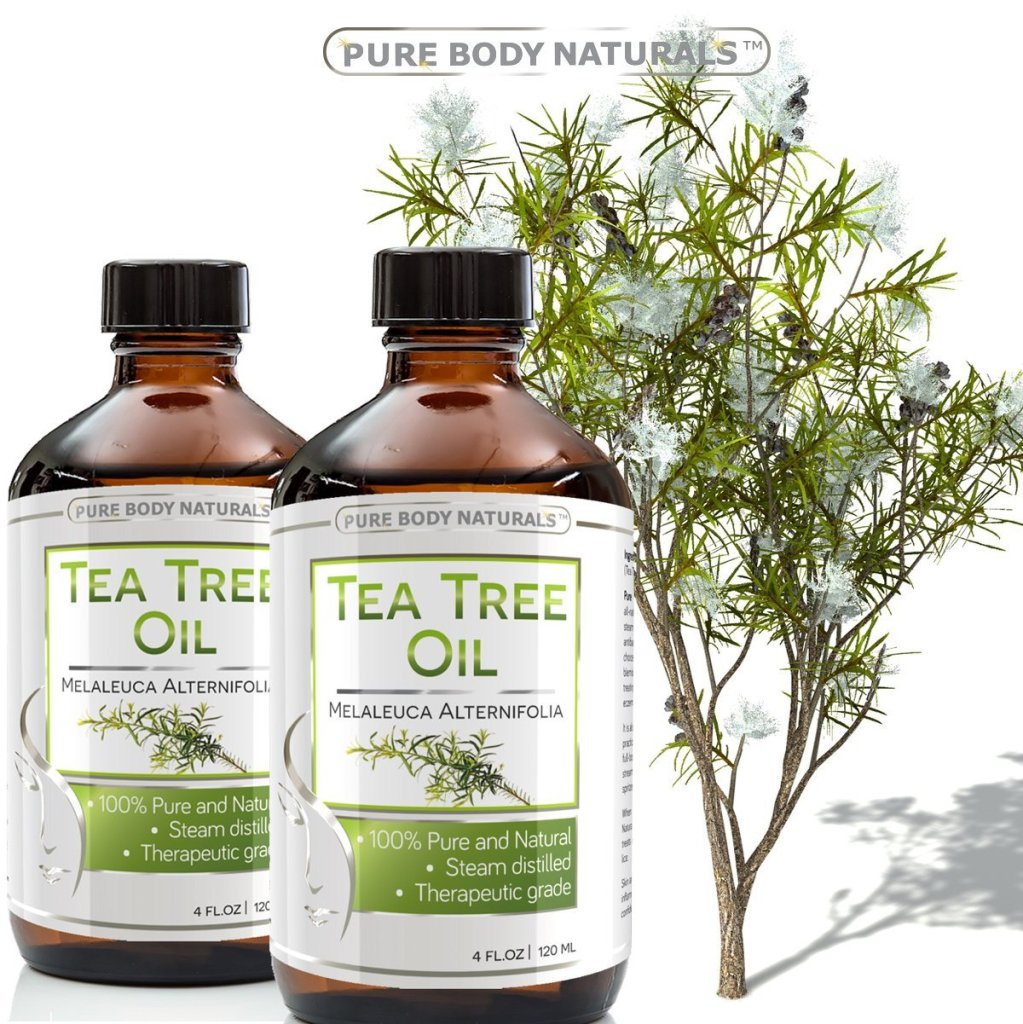 Pure Body Naturals Organic Tea Tree Oil Review