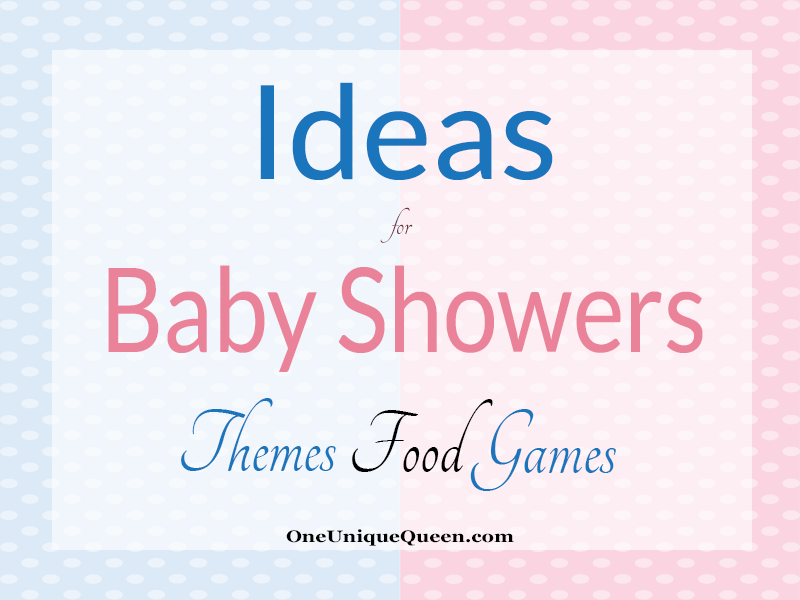 Ideas For Baby Shower