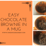 Easy Chocolate Brownie In A Mug
