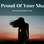 Be Proud Of Your Shape