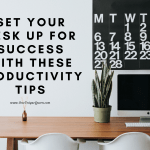 Set Your Desk up for Success with these Productivity Tips