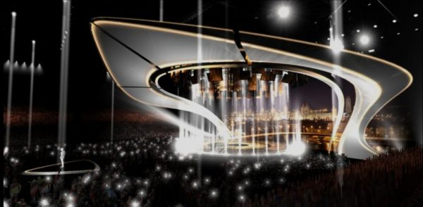 Stage for Eurovision 2017 (impression)