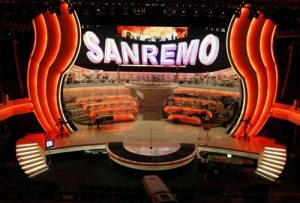 Italy: Sanremo 2021 - First night @ Teatro Ariston