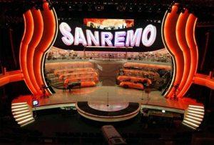 Italy: Sanremo 2021 - First night @ Teatro Ariston