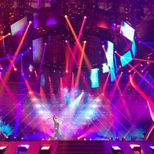Slavko on stage