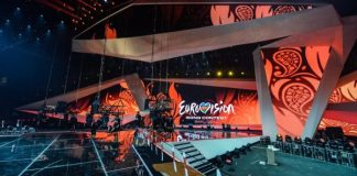 The stage of the 2012 ESC Eurovision Song Contest