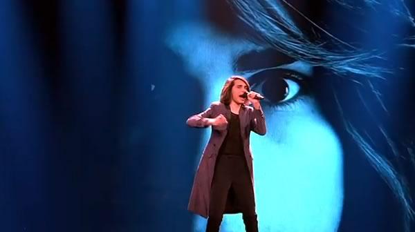 Australian singer at Eurovision