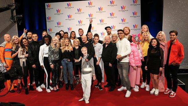 2018 MF contestants