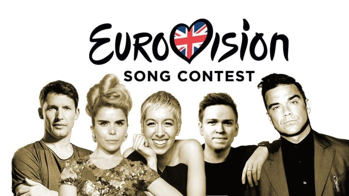 Unlikely Uk Eurovision stars