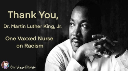 One Vaxxed Nurse on Racial Equality