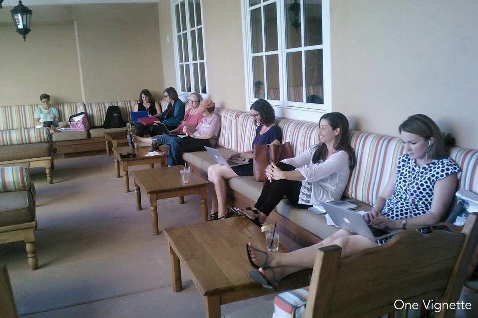 10.2.15. Retreat. Writers on Pation 2