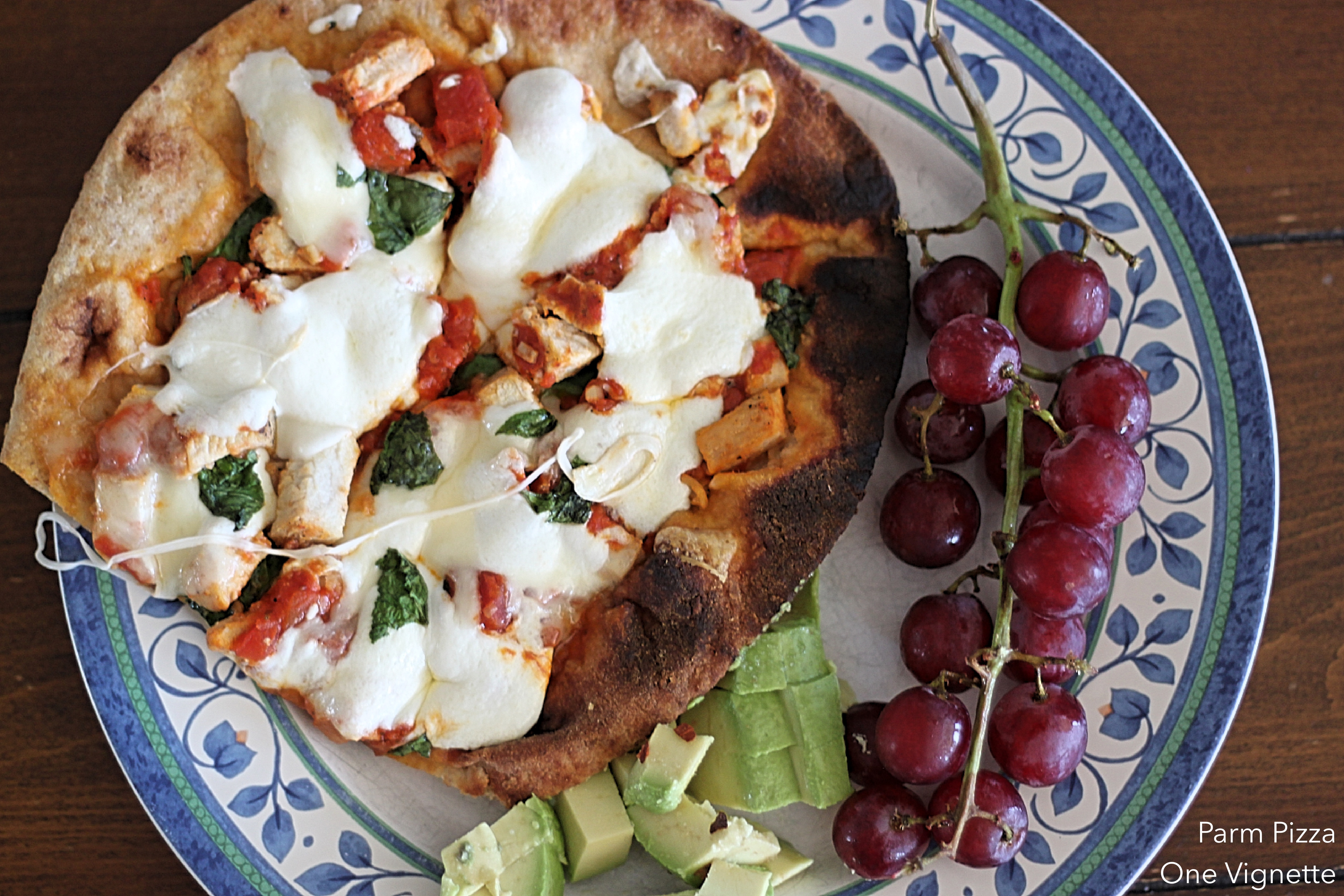 Leah Cooks Chicken Parm Pizza (with Leftovers!)