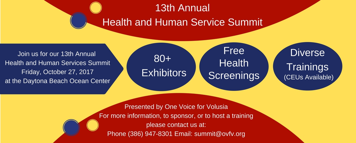 13th Annual Health and Human Services Summit – Save the Date