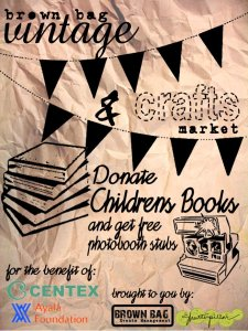 Donate Children's Books and get a free photobooth stub