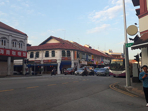 The Streets of Geylang, Singapore