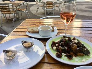 Portland, Aviary, oysters,