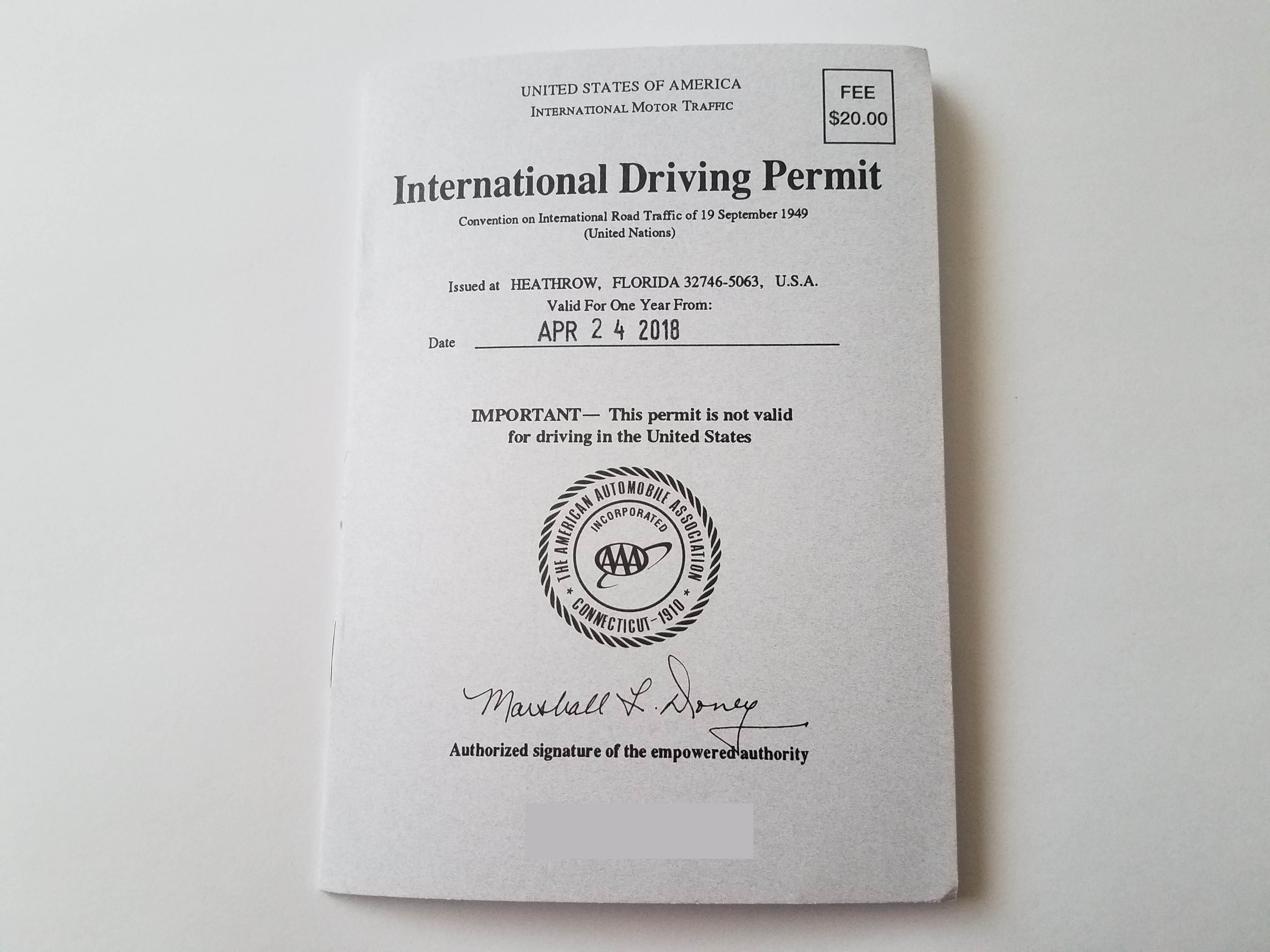How To Apply For An International Driving Permit