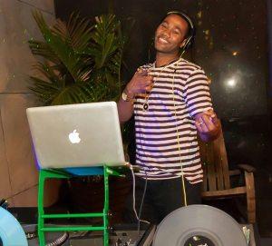 DJ Mixmaster Performing