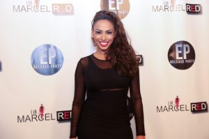 Nadia Dawn on the Red Carpet Photo Credit: B. Rene Norman Photography
