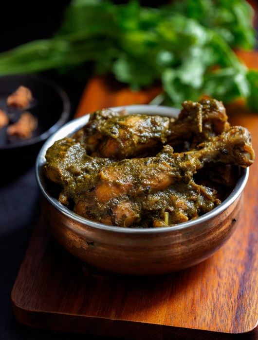 Dhaniya Chicken recipe by OneWholesomeMeal