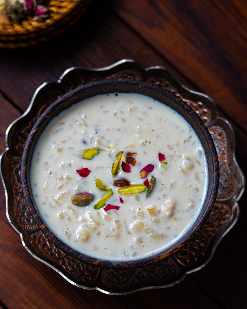 Gur Waali Kheer photography by OneWholesomeMeal