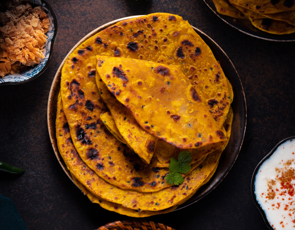 Pumpkin Paratha Recipe- Easy Lunchbox Meal