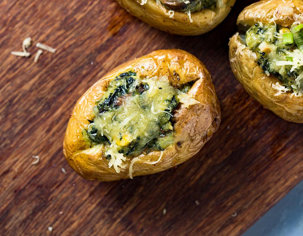 Baked Jacket Potatoes- Easy Wholesome Recipe