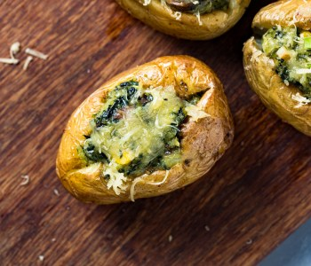 Baked Jacket Potatoes- Easy Wholesome Recipe