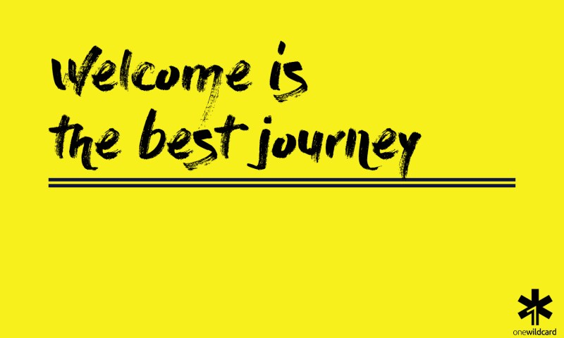 welcome is the best journey