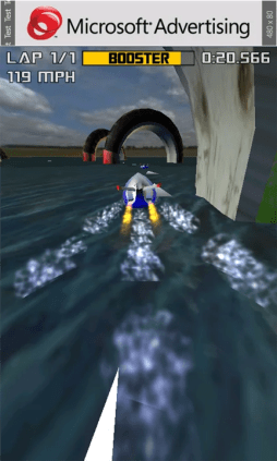 3d boat race capture