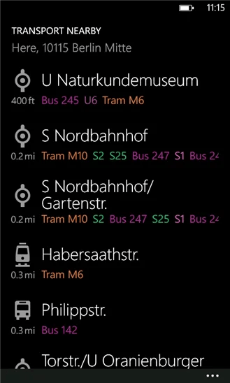 Nokia-Transport