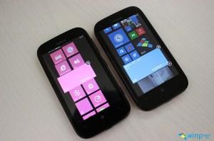 Pantalla de inicio Windows Phone 7.8