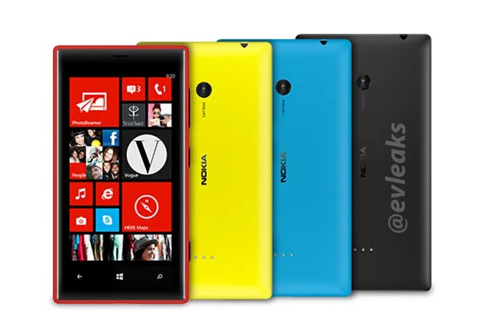 Lumia 720 trasera